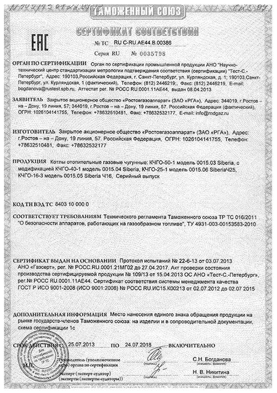 клапаны термозапорные ктз сертификаты